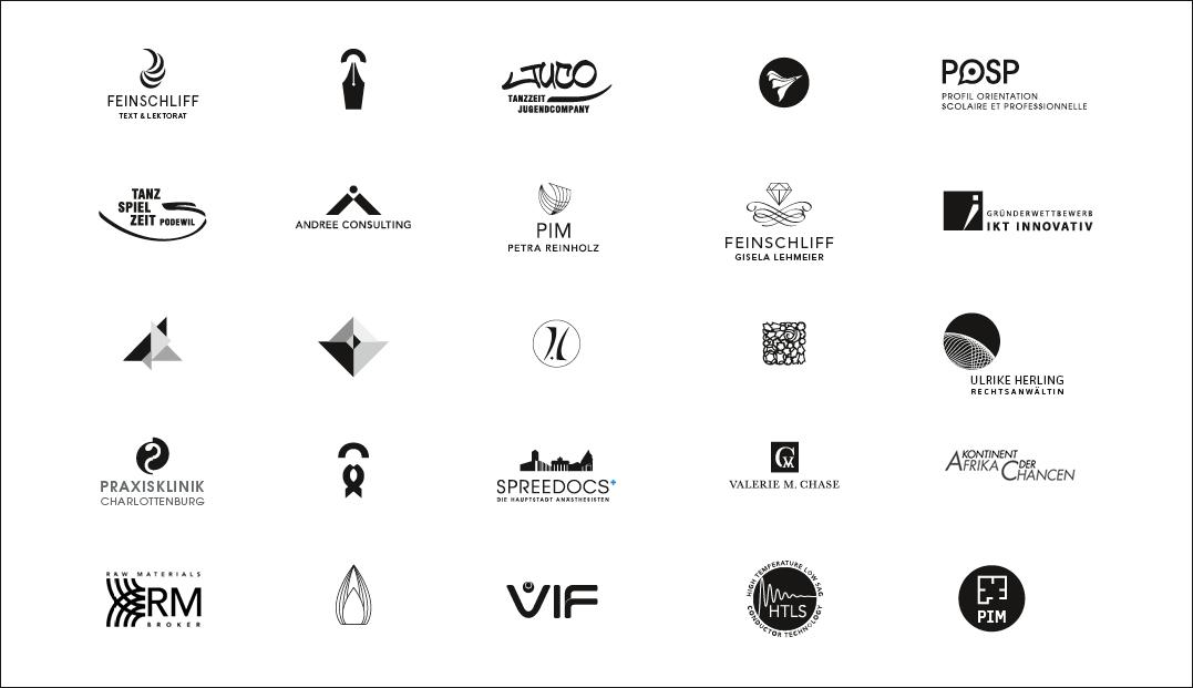 Gesamtübersicht Logos