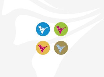 Logo-Entwurf Pusteblume