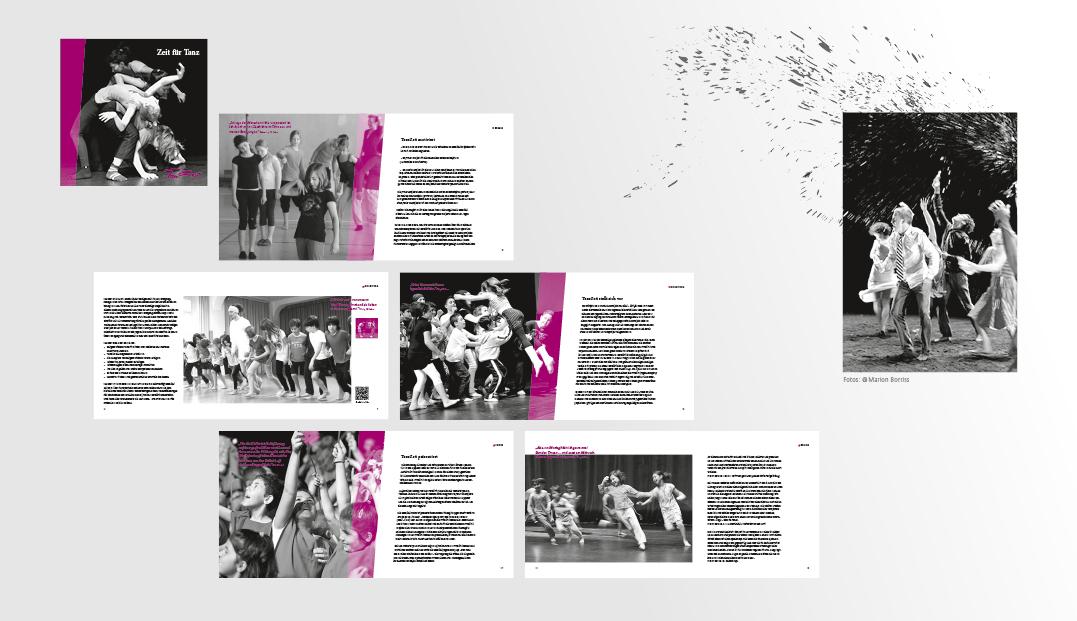 Tanzzeit – Jubiläumsbroschüre