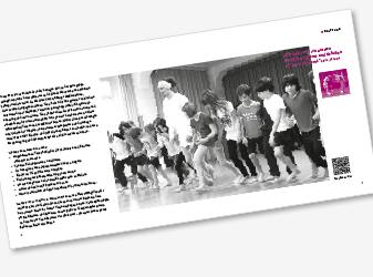 Doppelseite Festschrift TanzZeit